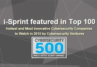 i-Sprint Cybersecurity 500 feature top 50
