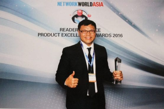 i-Sprint NetworkWorld Asia Reader Choice Product Excellence Awards 2016