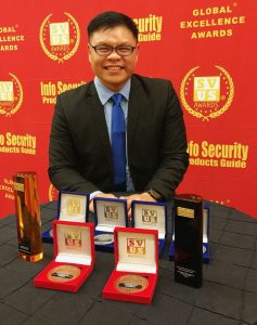 Dutch Ng - i-Sprint Info Security's Global Excellence Awards