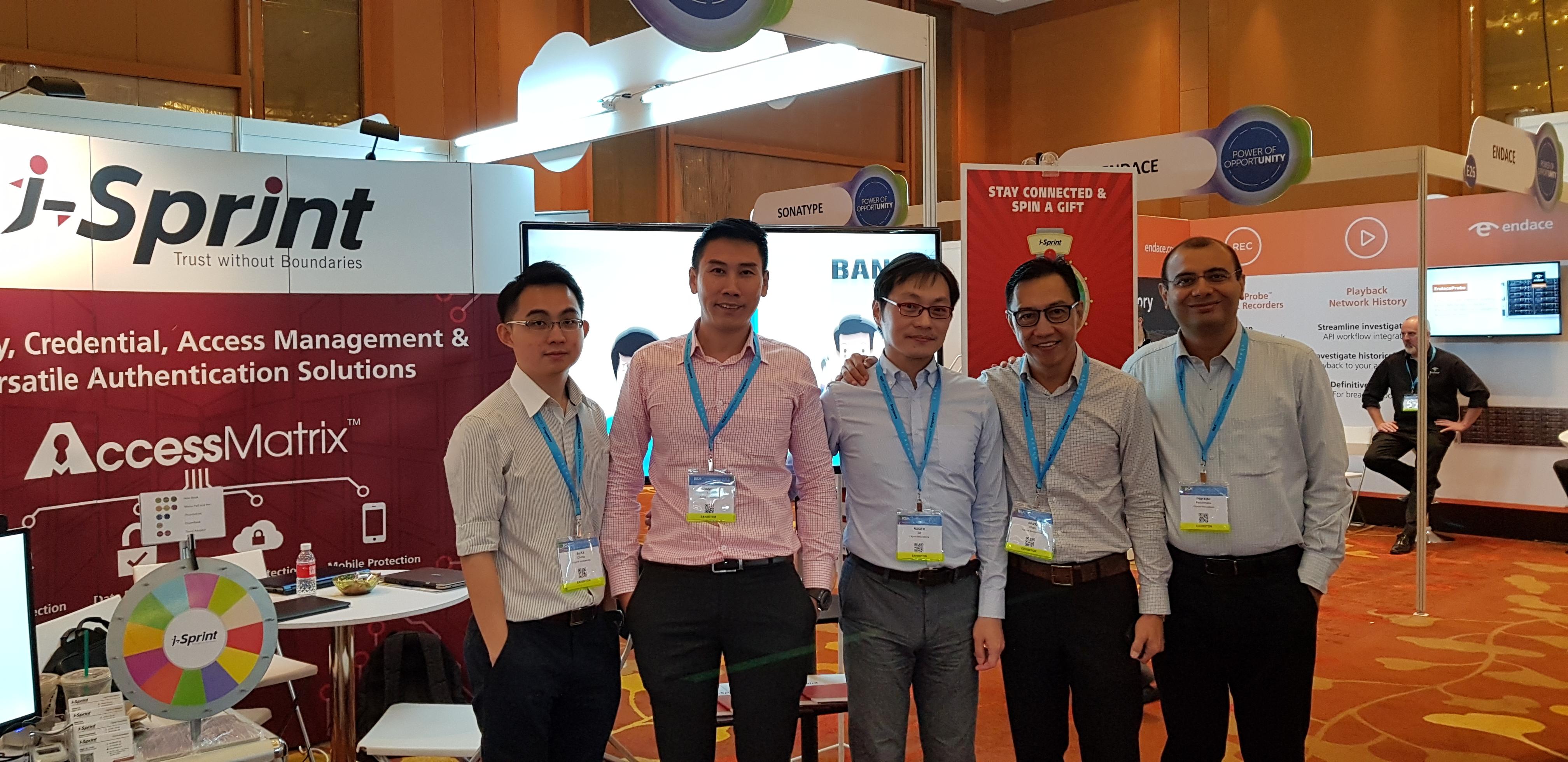 i-Sprint RSA 2017 Conference Group Photo