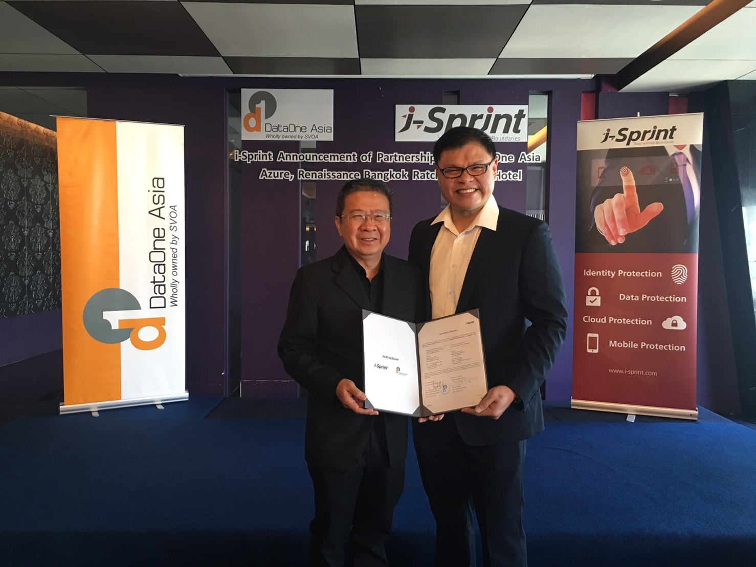 i-sprint dataone asia partnership