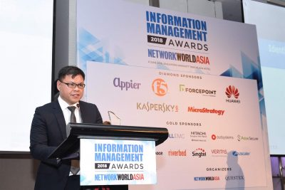 Identity & Authentication Management Category Of Information Management Awards 2018 Winner